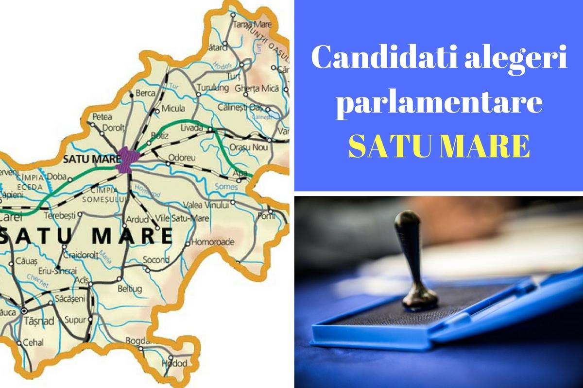 Candidați alegeri parlamentare 2016 Satu Mare. Listele de candidați ale partidelor pentru Camera deputaților și Senat în județul Satu Mare.
