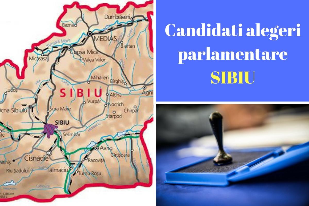 Candidați alegeri parlamentare 2016 Sibiu. Listele de candidați ale partidelor pentru Camera deputaților și Senat în județul Sibiu.