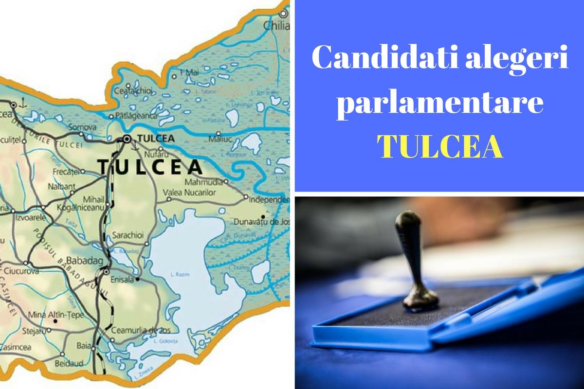Candidați alegeri parlamentare 2016 Tulcea. Listele de candidați ale partidelor pentru Camera Deputaților și Senat în județul Tulcea.