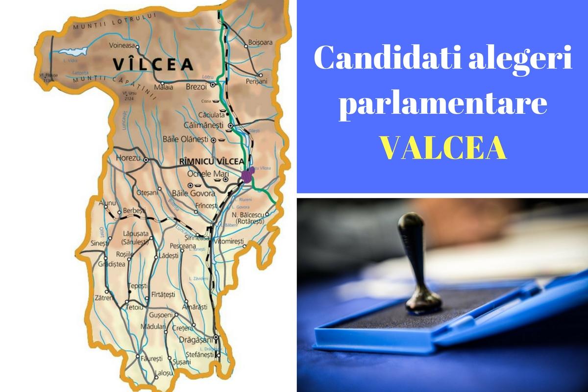 Candidați alegeri parlamentare 2016 Vâlcea. Listele de candidați ale tuturor partidelor pentru Camera Deputaților și Senat în județul Vâlcea.