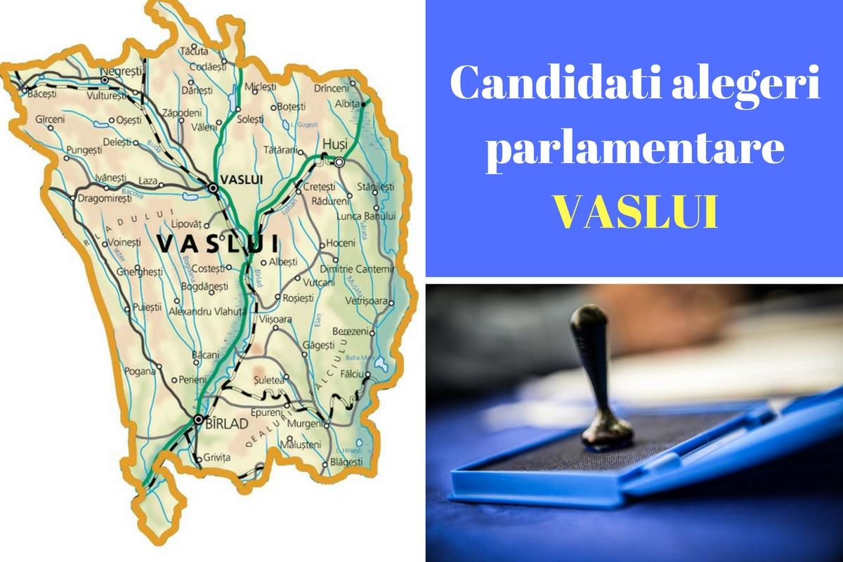 Candidaţi alegeri parlamentare 2016 Vaslui. Listele de candidați ale partidelor pentru Camera Deputaților și Senat în județul Vaslui.
