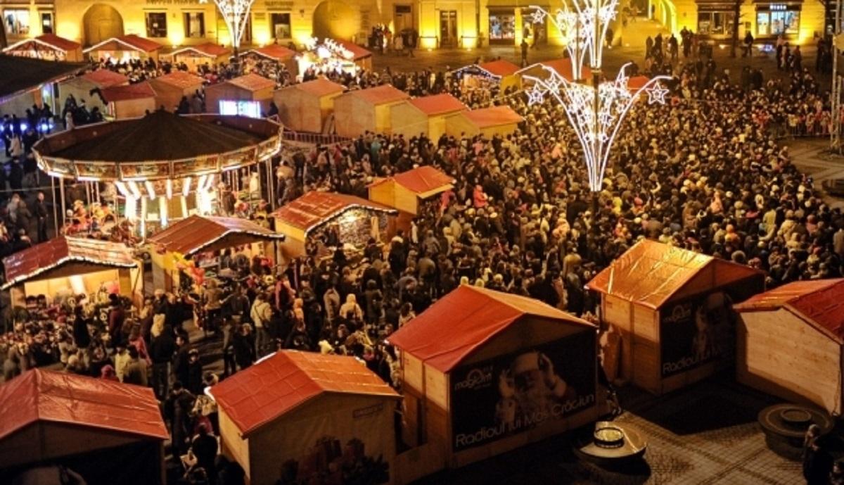Luminile de Crăciun din București se vor aprinde pe 1 decembrie. Tot pe 1 decembrie se va deschide și Târgul de Crăciun, în Piața Constituției