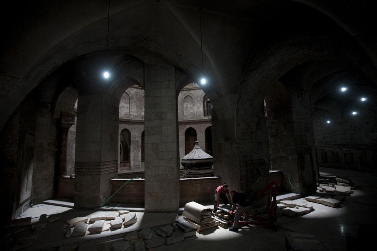 O echipă de arheologi, care lucrează la restaurarea locului sfât din Ierusalim, au avut la dispoziție 60 de zile pentru a ....