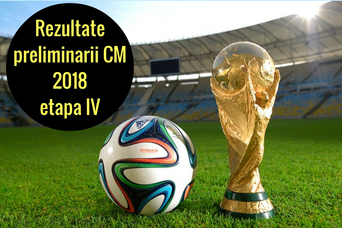 Rezultate preliminarii CM 2018 etapa a patra. Rezultatele complete, marcatorii golurilor și clasamentul grupelor preliminariilor Mondialului.