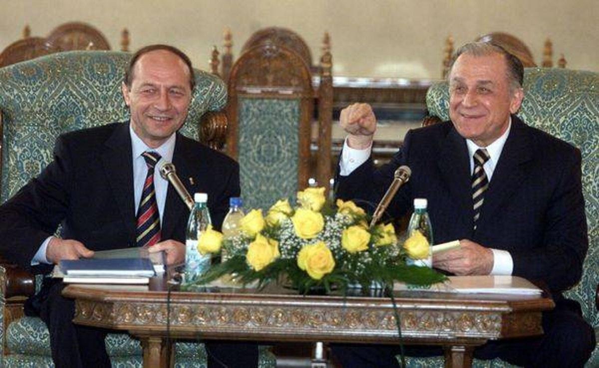 Traian Băsescu susţine că Ion Iliescu nu e cel mai mare vinovat pentru Mineriade şi evenimentele din 1989