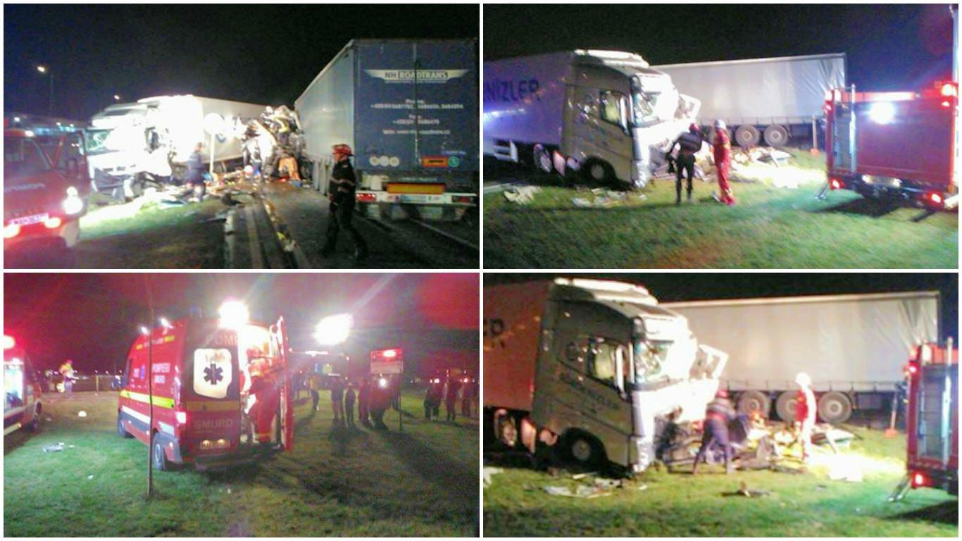 Accident grav pe centura Aradului. Traficul a fost blocat