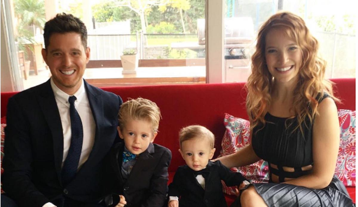 Michael Buble este devastat: Fiul său, în vârstă de 3 ani, are cancer