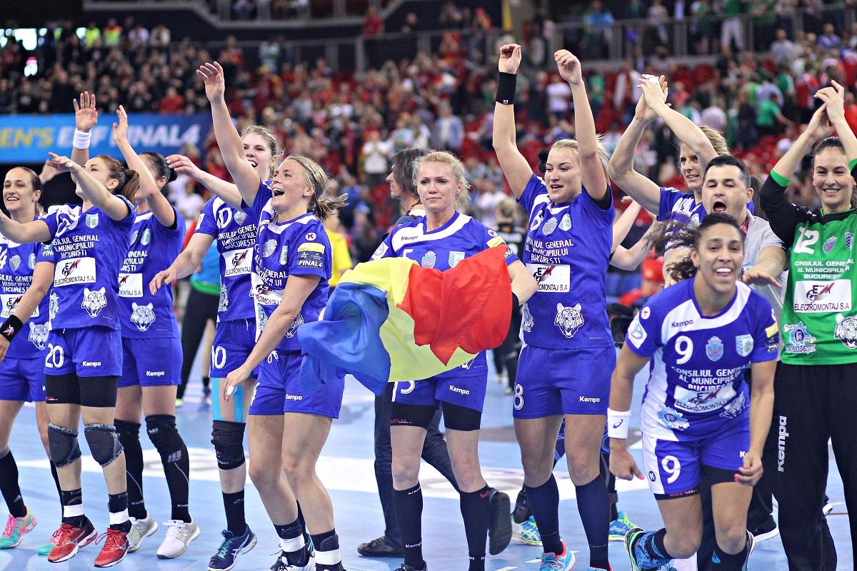 CSM Bucureşti - Krim Ljubljana, din Liga Campionilor la handbal feminin, se joacă sâmbătă