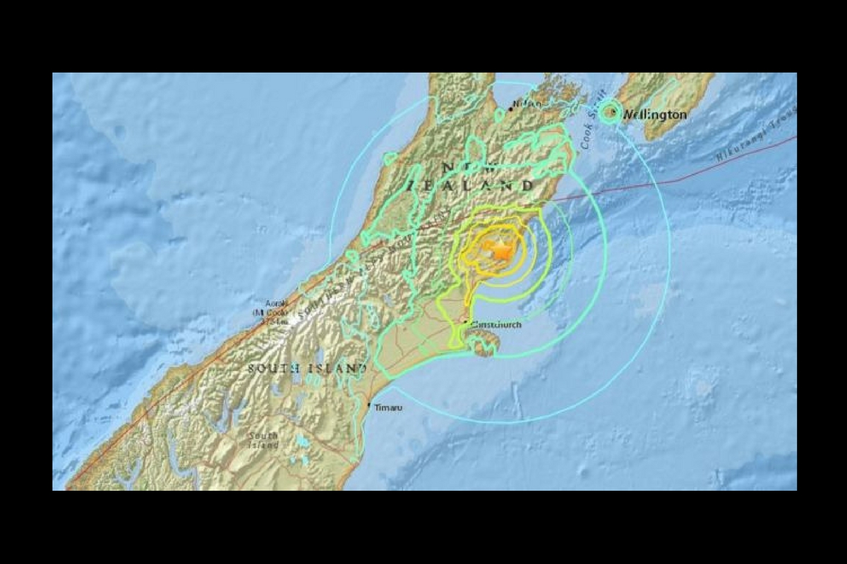 Un cutremur a avut loc în Noua Zeelandă, duminică, 13 noiembrie. Magnitudinea inițială a fost estimată la 7.4 grade pe scara Richter.