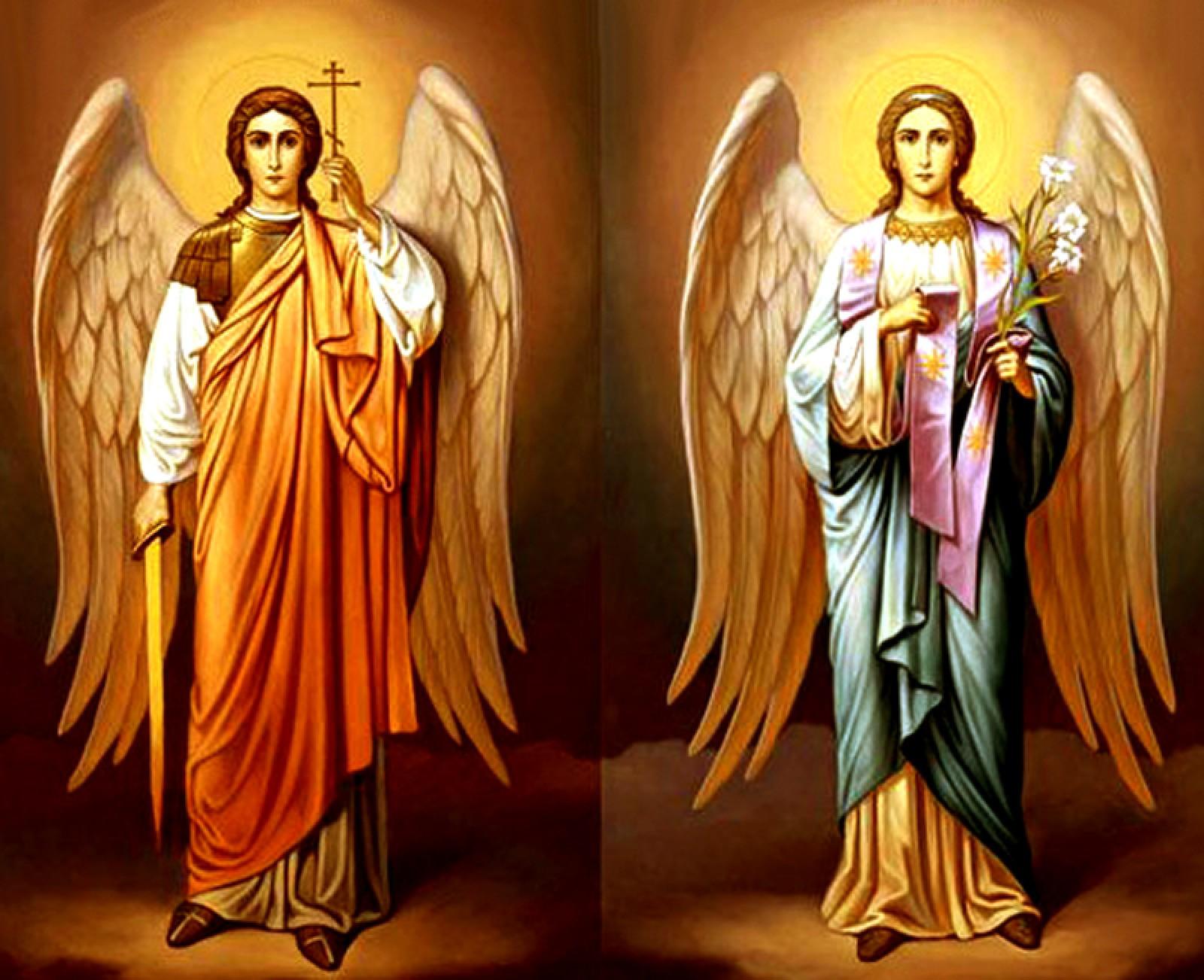 Sfinții Arhangheli Mihail și Gavriil sunt prăznuiți pe 8 noiembrie. Aceasta este o zi de sărbătoare, marcată cu cruce roșie în calendarul creștin-ortodox.
