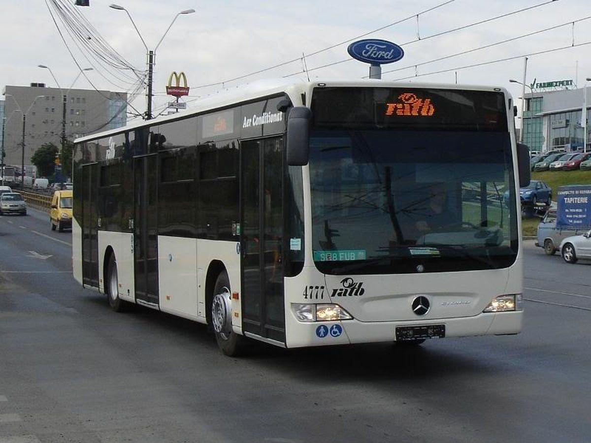 Regia Autonomă de Transport Bucureşti (RATB) introduce, începând de luni, 28 noiembrie, o linie specială de autobuze, pentru transportul în comun.