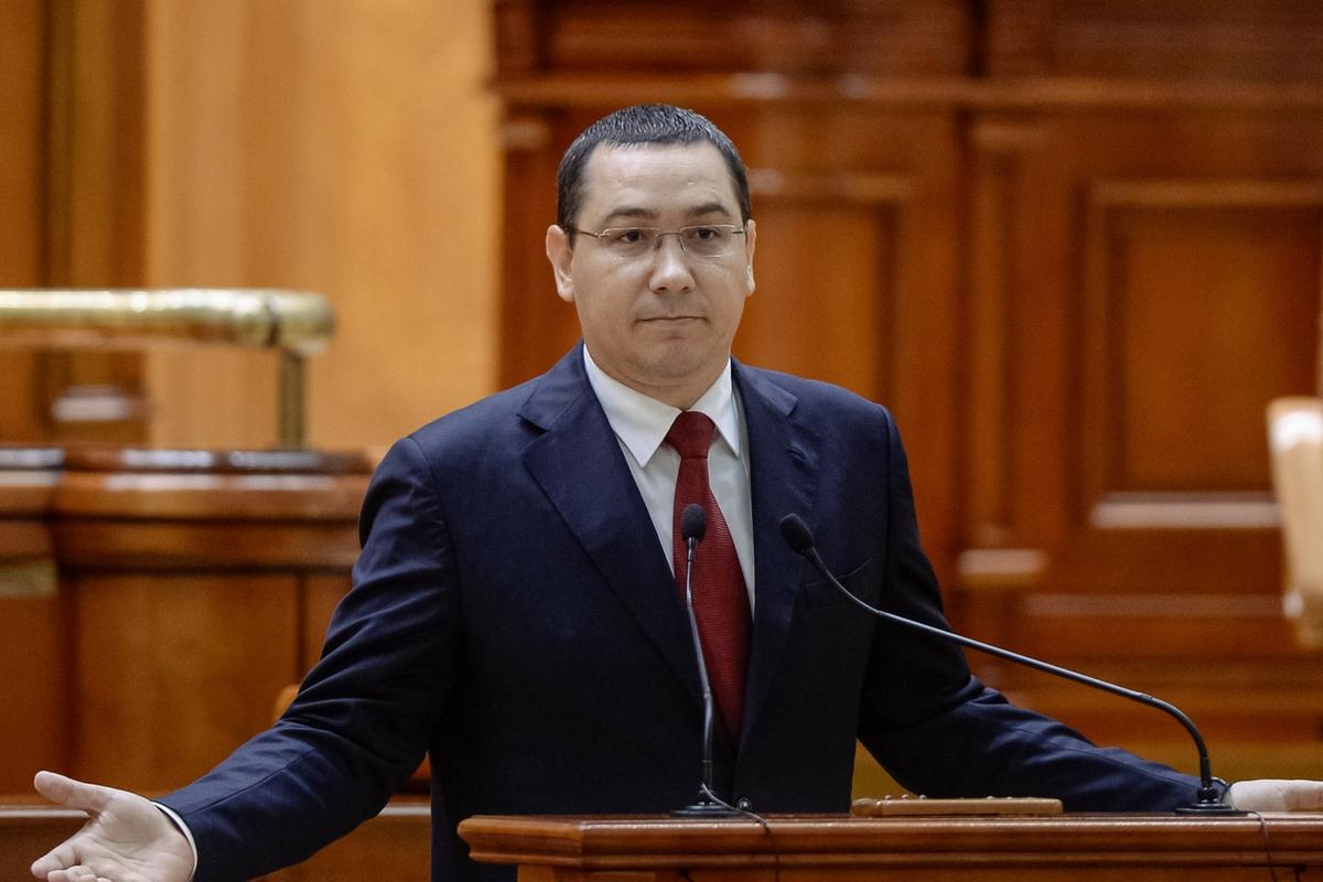 """Fostul premier Ponta a reacționat după mesajul """"Sper să crăpi, Victor Ponta"""", gafa devenită virală de pe Facebook-ul Hotnews."""