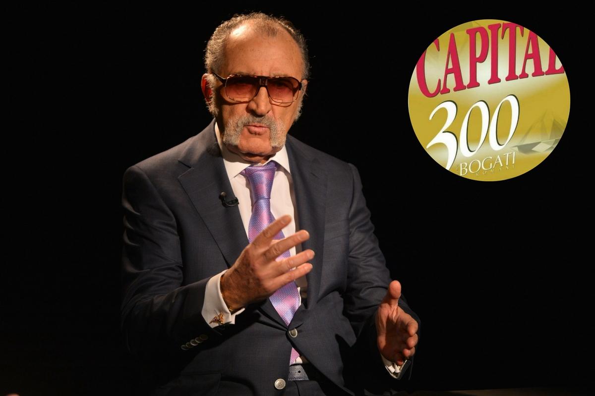 Top 300 Capital, ediția 2016. Ion Țiriac este în continuare cel mai bogat român. Cine sunt primii zece cei mai bogati români în topul realizat de revistă.