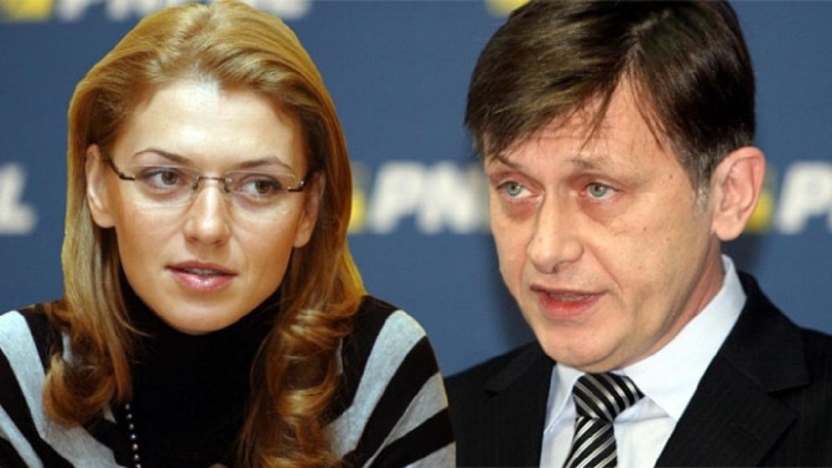 Crin Antonescu ar putea fi soluția pentru șefia PNL crede Alina Gorghiu. Senatorul liberal a declarat că nu s-ar împotrivi acestei decizii.