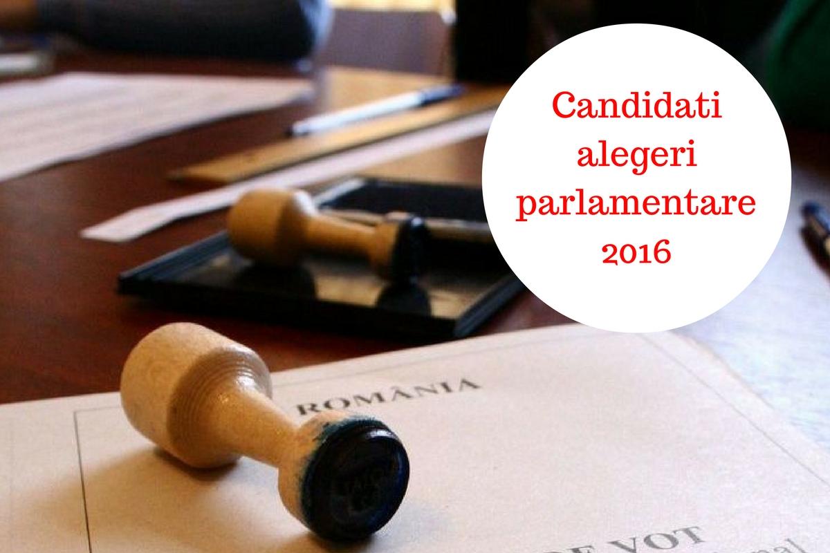 Candidații la alegerile parlamentare din decembrie 2016 în toate județele. Cine sunt cei care candidează pentru un loc în Senat sau Camera Deputaților.