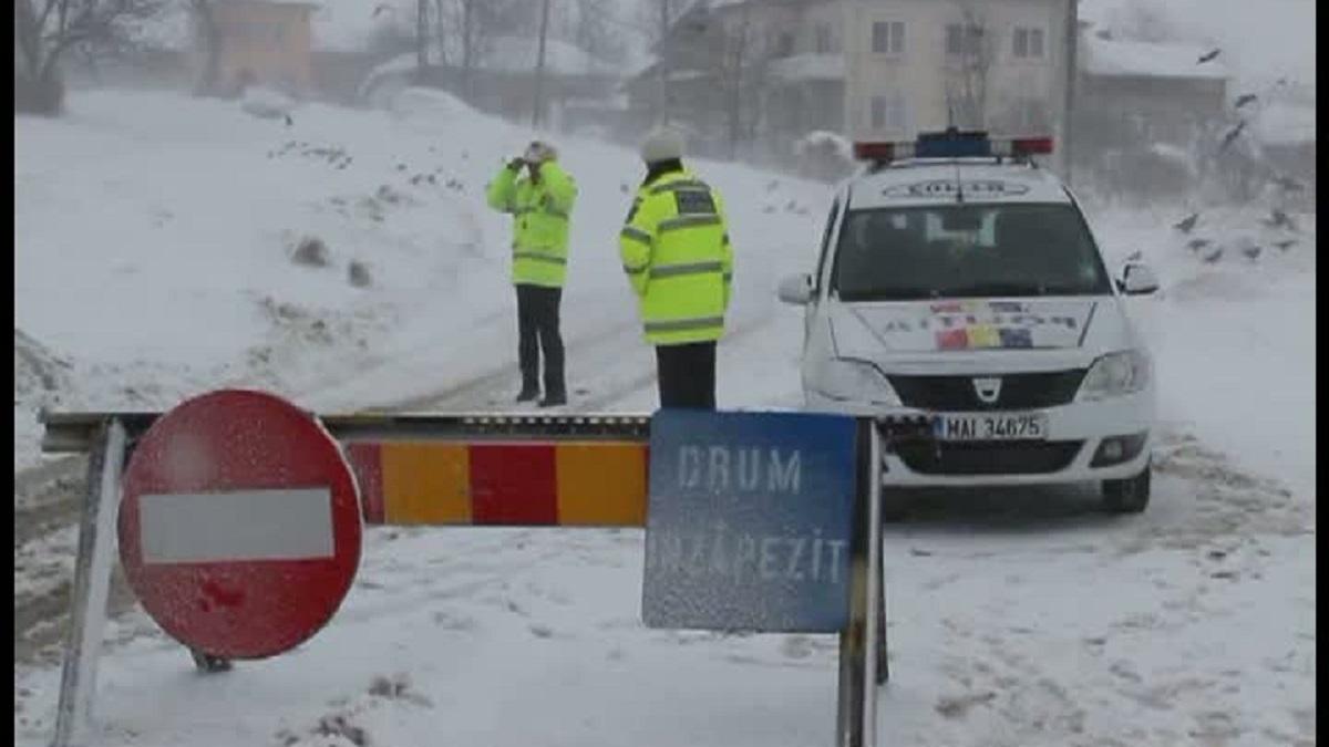 Cum se circulă în țară în prima zi de iarnă geroasă - INFOTRAFIC