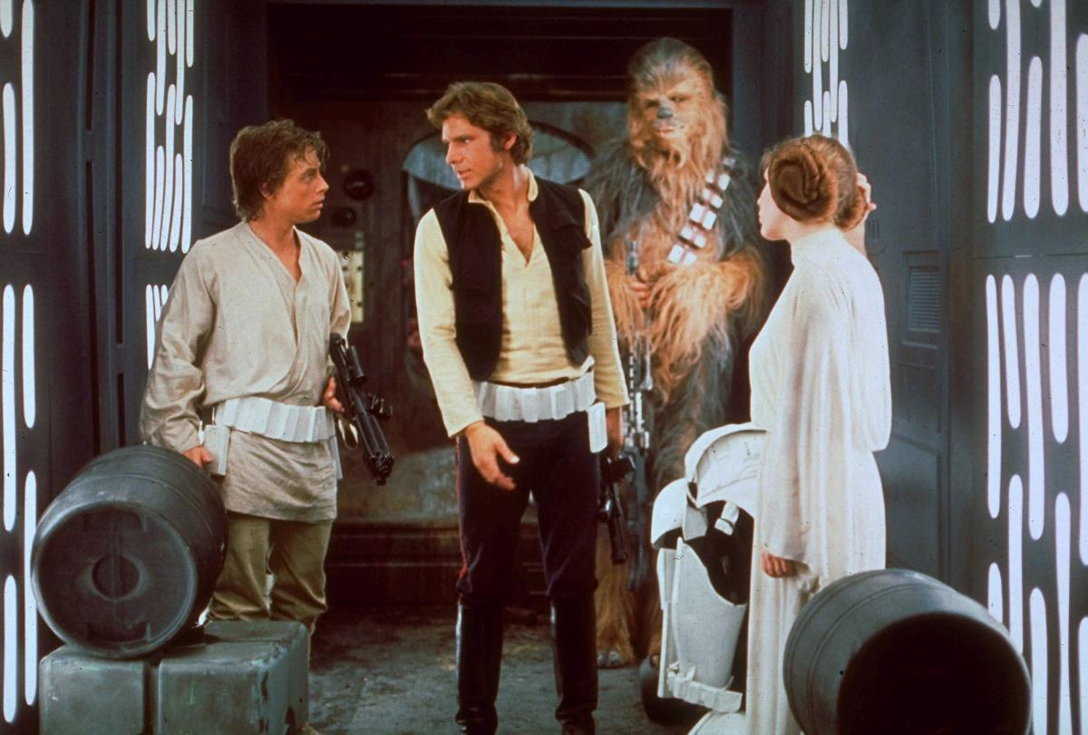 """Mark Hamill a jucat în prima Trilogie din """"Războiul Stelelor"""" rolul lui Luke Skywalker, fratele Prințesei Leia, interpretată de Carrie Fisher"""