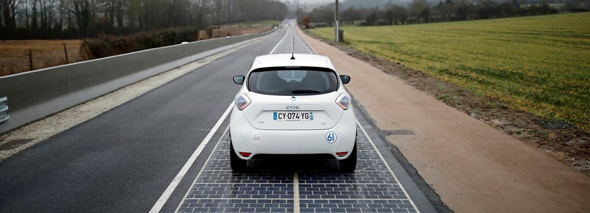 Prima șosea solară din lume va fi inaugurată în Normandia. Premiera proiectului a fost anunțată de ministrul Mediului, Ségolène Royal.
