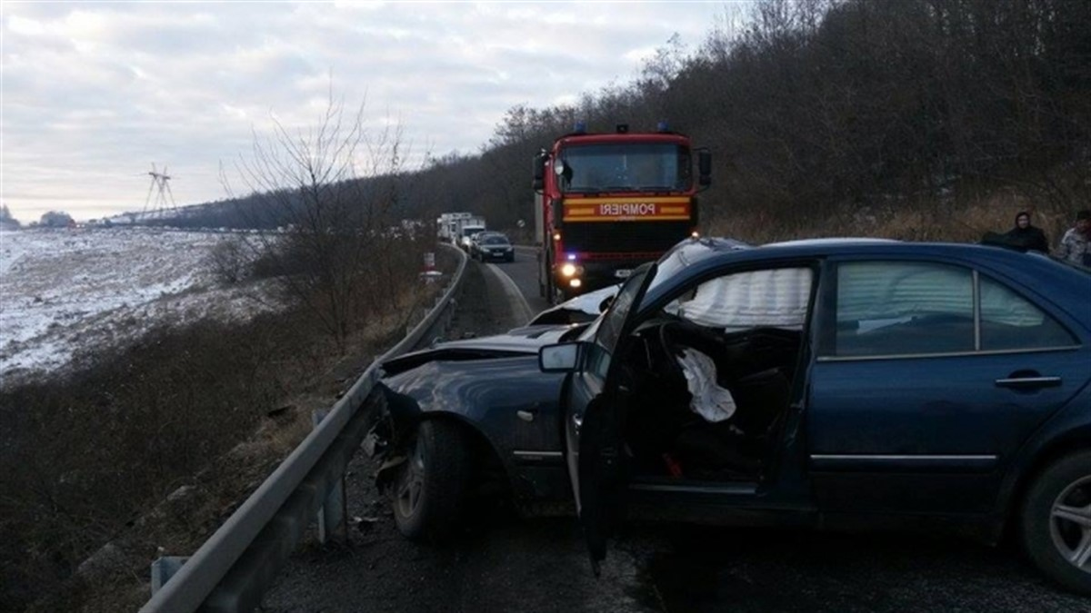 Accident la Șaroș pe Târnave