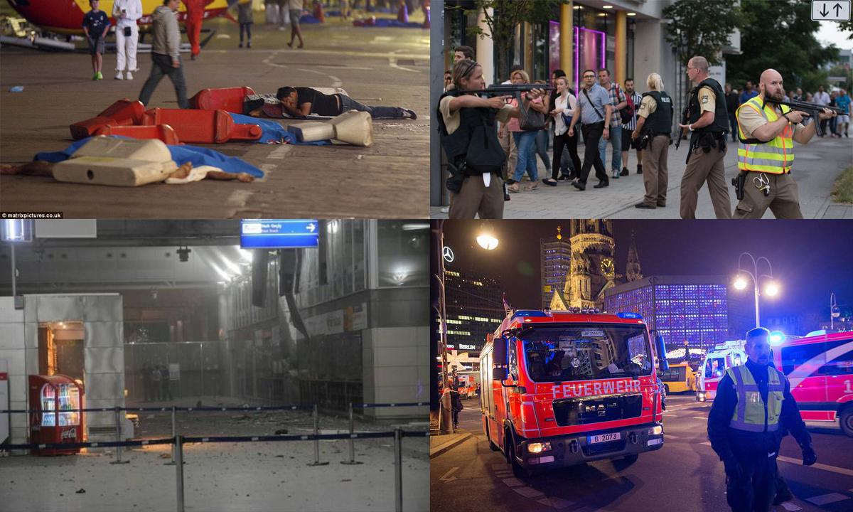 Belin, atentat terorist înainte de Crăciun la un târg