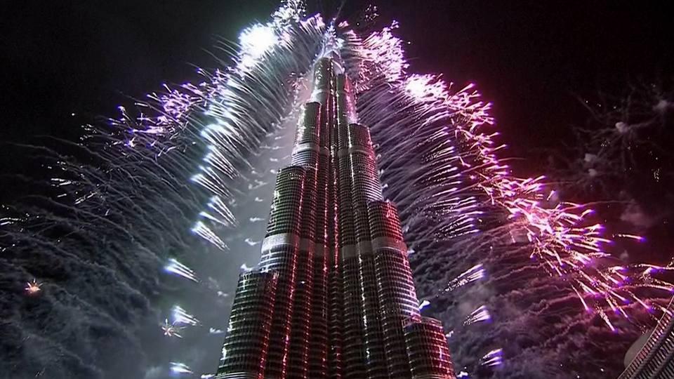 Dubai Foc de artificii 2017