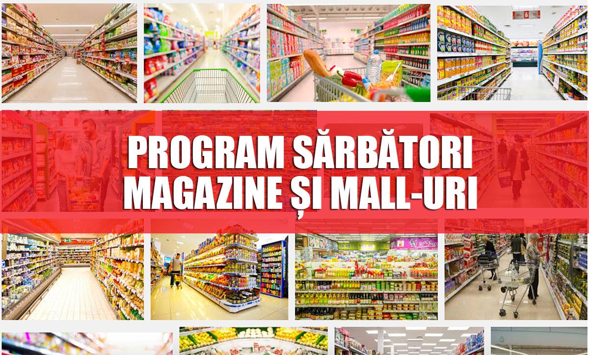 Program sărbători magazine și mall