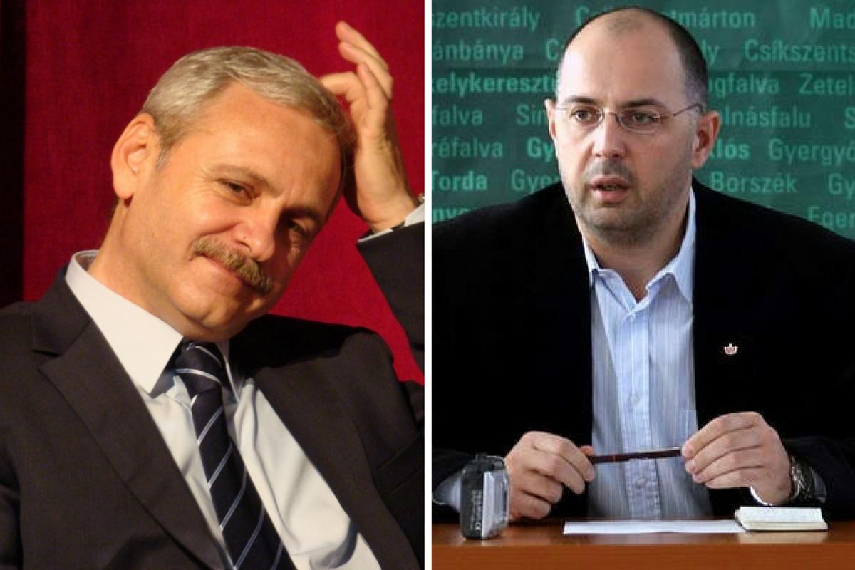 PSD și UDMR au semnat miercuri un protocol de colaborare parlamentară. Kelemen Hunor s-a arătat dispus să susțină propunerea de premier a lui Dragnea.