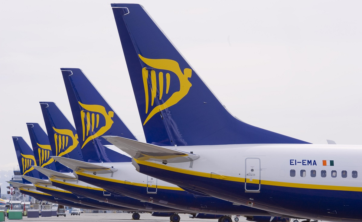 Lista zobrului anulate Ryanair în perioada 19 septembrie - 28 octombrie