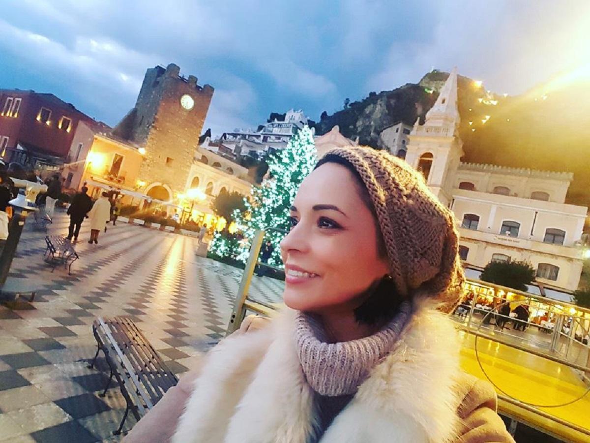 Andreea Marin a petrecut Revelionul departe de casă. Vedeta nu a fost singură