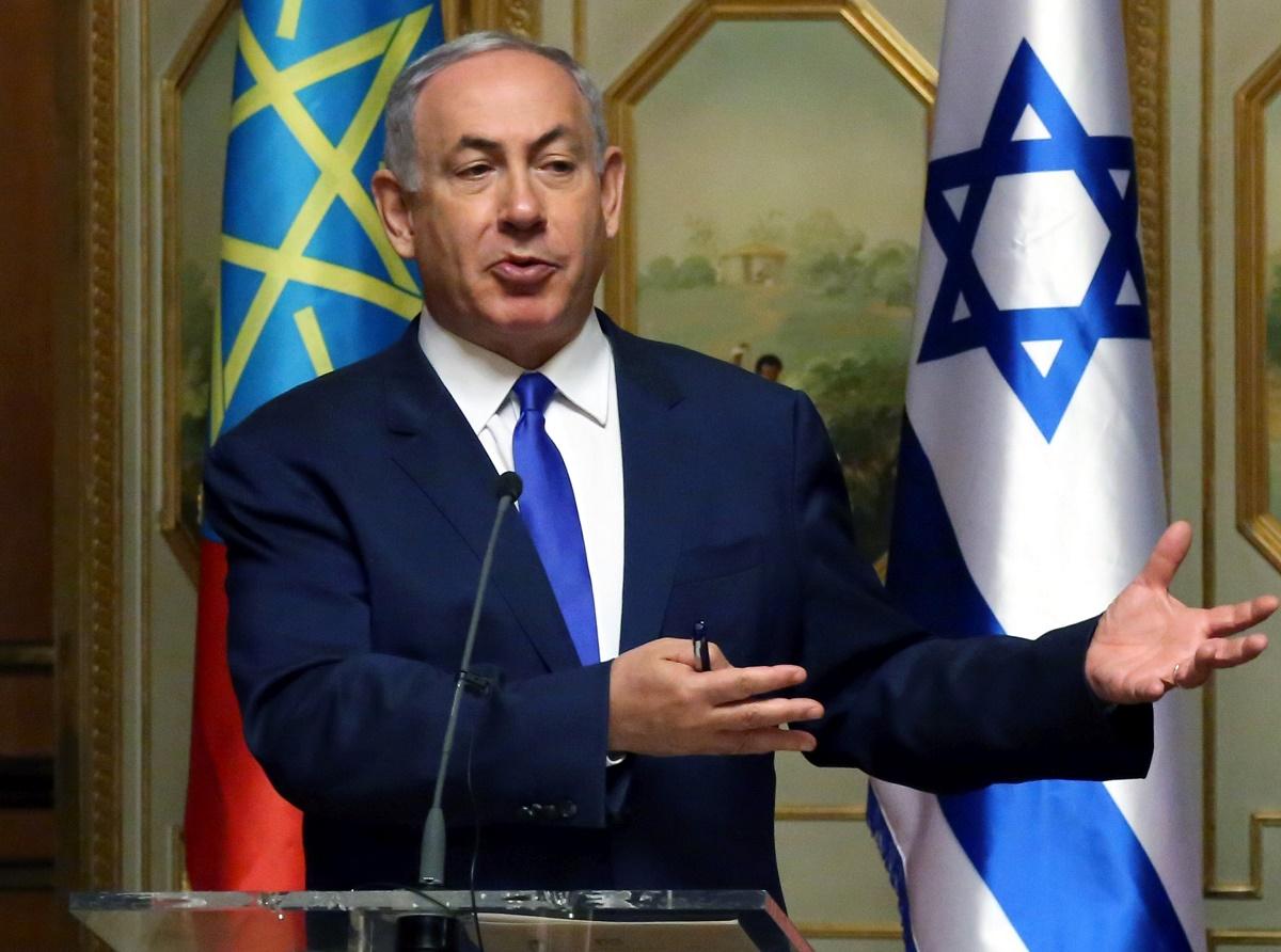 """Premierul israelian Benjamin Netanyahu a fost audiat într-un dosar privind """"cadouri ilegale"""" primite de la doi oameni de afaceri din Tel Aviv"""