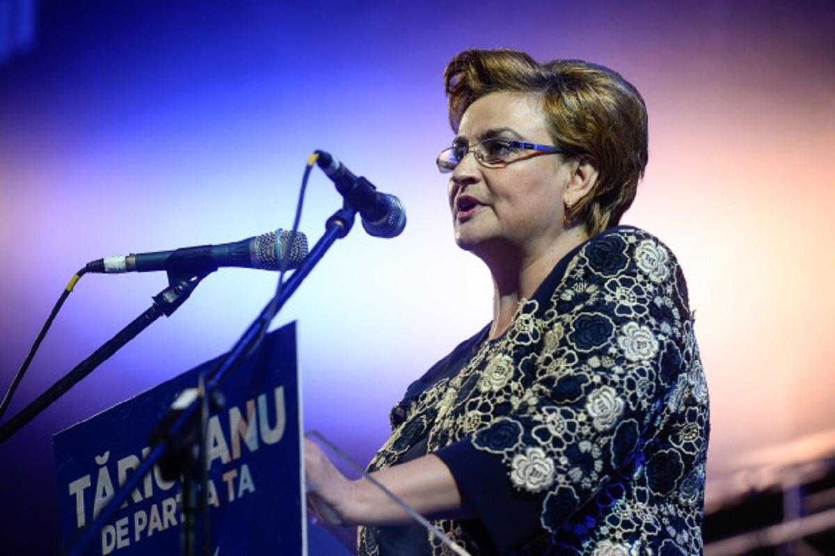 Grațiela Gavrilescu a fost ministru al mediului în Guvernarea lui Victor Ponta, din decembrie 2014 până în noiembrie2015