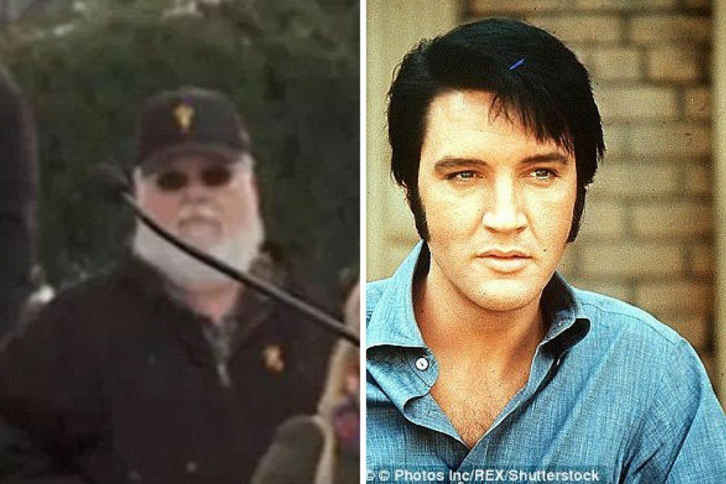 Elvis trăiește? Fotografia care a creat rumoare printre fanii teoriilor conspirative