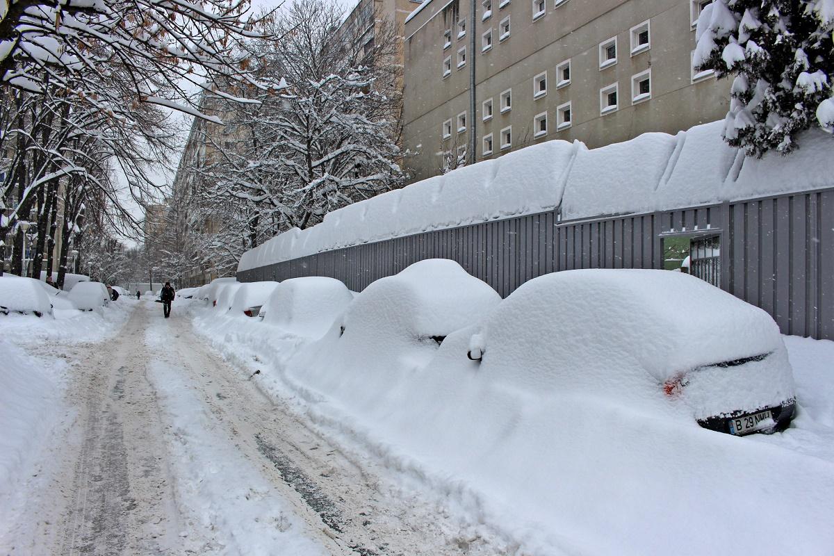 Gabriela Firea consideră că autoritățile și-au făcut datoria prin aplicarea planului de deszăpezire în Capitală, după ninsorile abundente