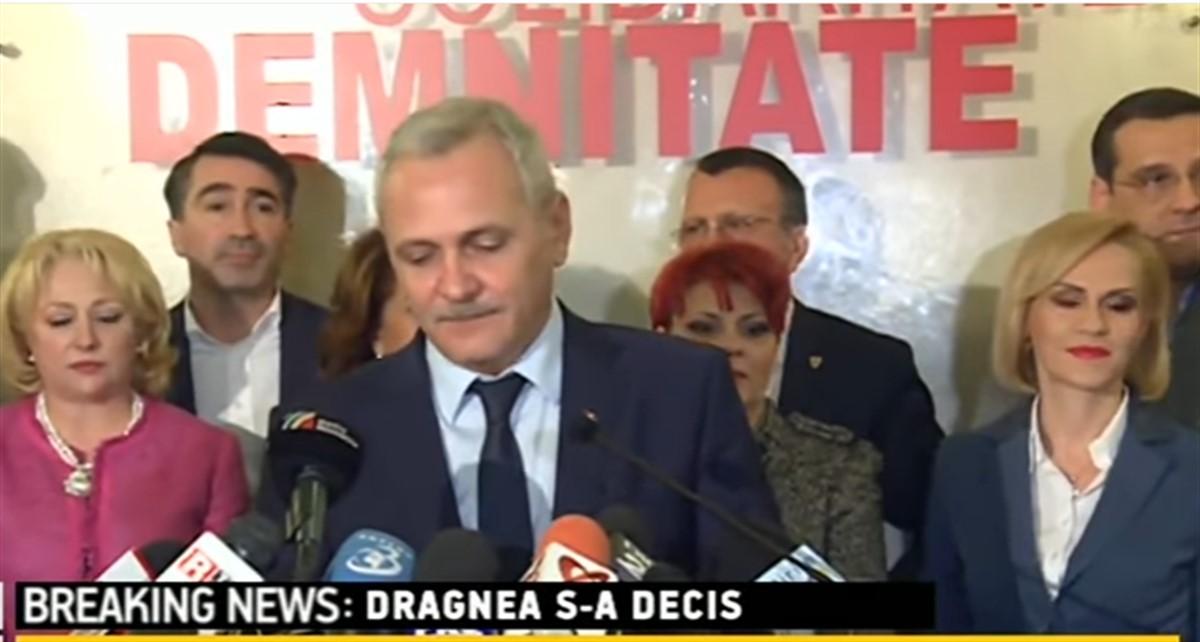 Liderul PSD, Liviu Dragnea, a declarat că nu îl interesează ordonanțele privind grațierea și modificarea codului penal.