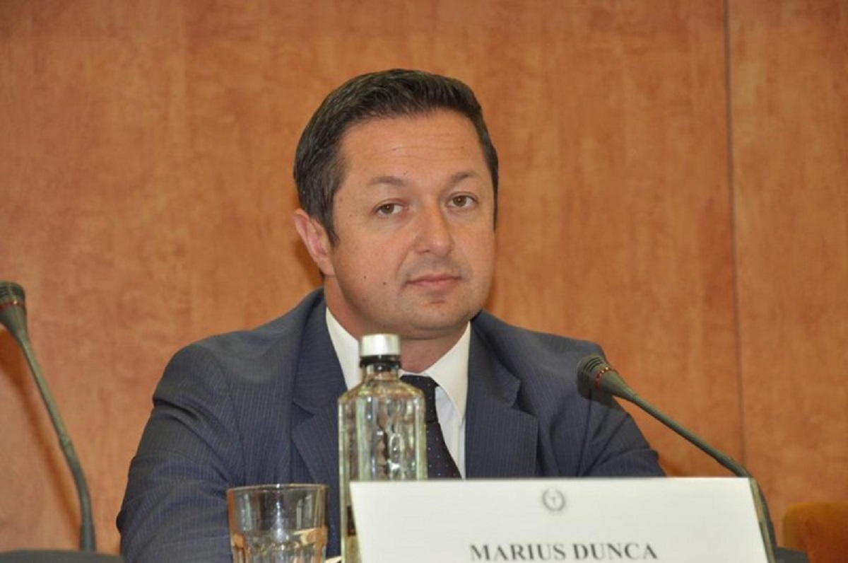 Marius Dunca, ministrul Tineretului și Sportului. Dunca a fost președinte ANPC, demis în urma tragediei de la Colectiv.