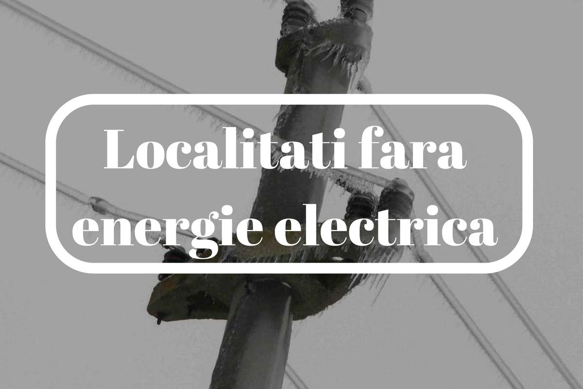 Localități din Constanța, Tulcea, Ialomița, Călărași, Galați, Brăila și Buzău au rămas fără energie electrică.