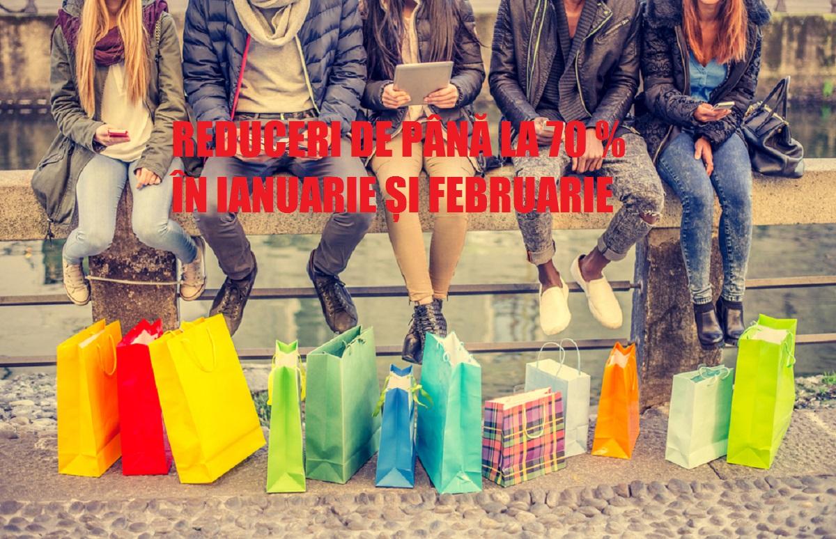 Reduceri ianuarie și februarie de neratat. H&M, Zara, Sephora, Jolidon, C&A vin cu reduceri de până la 70%.