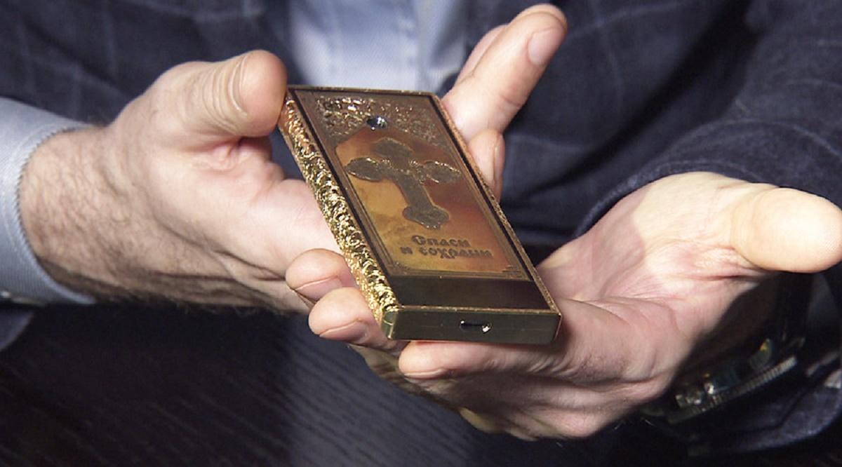 Telefonul ortodox este creația unei companii din Rusia