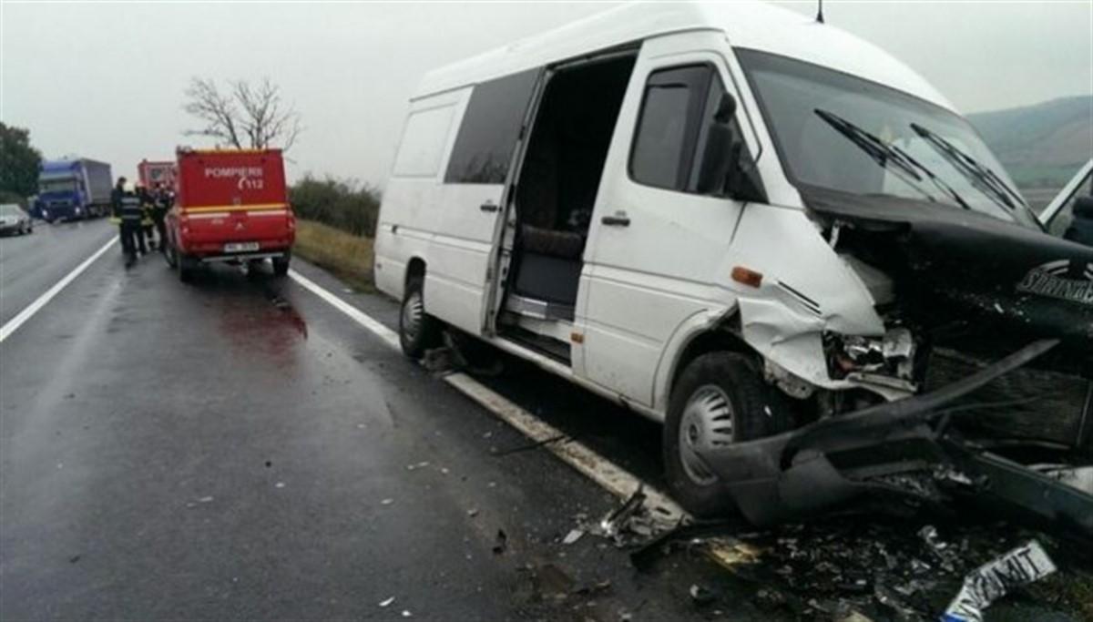 Accident la Crucea Comisoaiei, județul Buzău, miercuri, la prânz. Doi oameni au murit și alți doi au fost răniți, pe DN 2, E85.