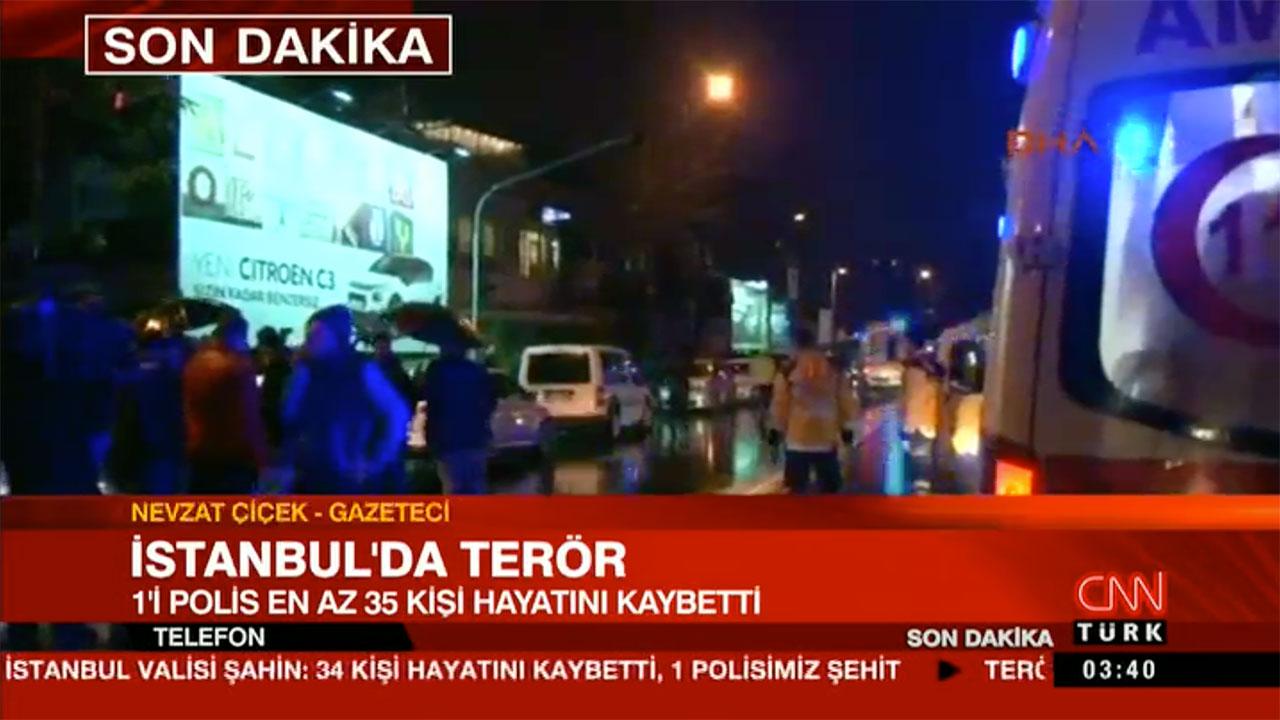 Atac armat în Istanbul într-un club, 35 de morți și peste 50 de răniți