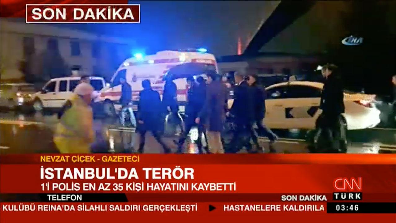 Istanbul: Atac armat în club, 35 de morți și zeci de răniți