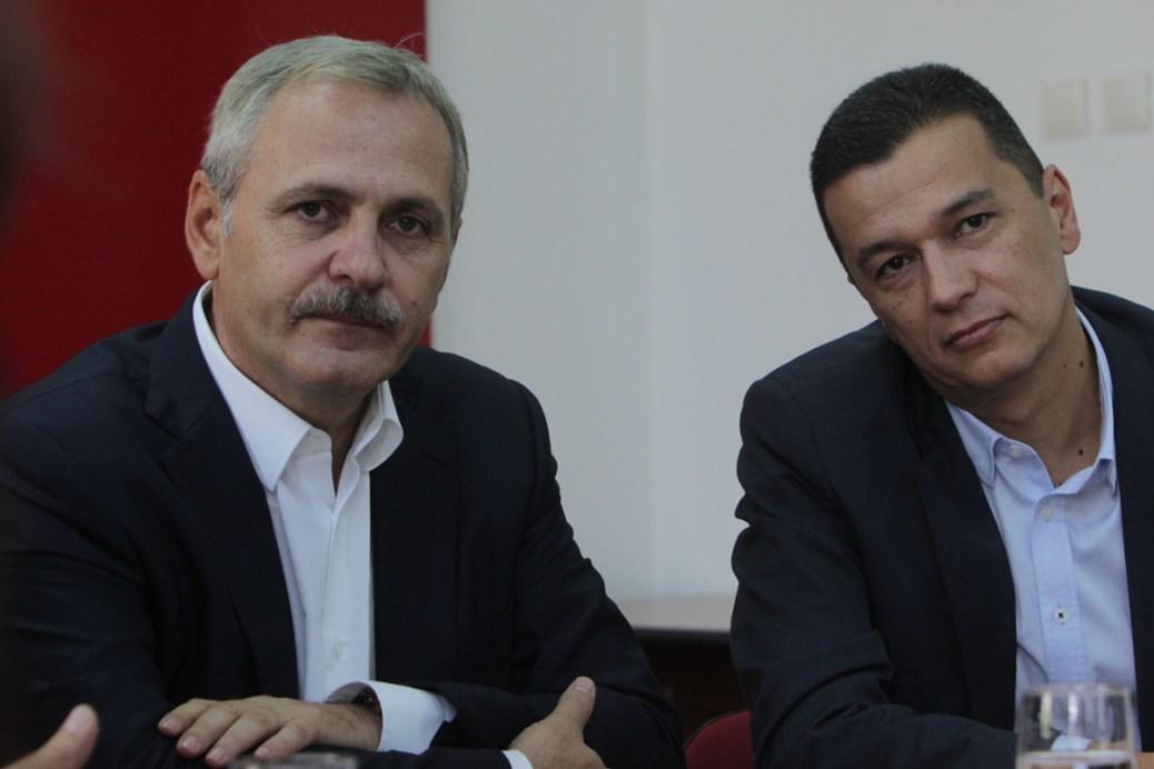 Premierul Sorin Grindeanu și Liviu Dragnea s-au întâlnit la sediul partidului din Băneasa pentru a discuta proiectul de Buget 2017.