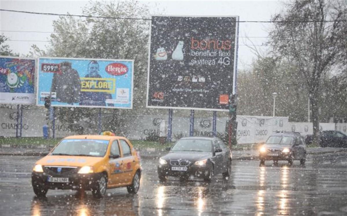 ATENȚIE! În Capitală se circulă în condiții de iarnă