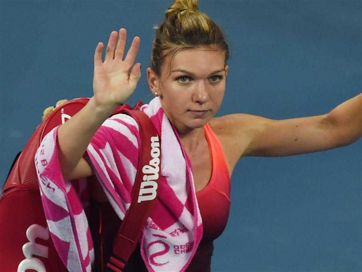 VICTORIE pentru Simona Halep în primul meci de la Turneul Campioanelor