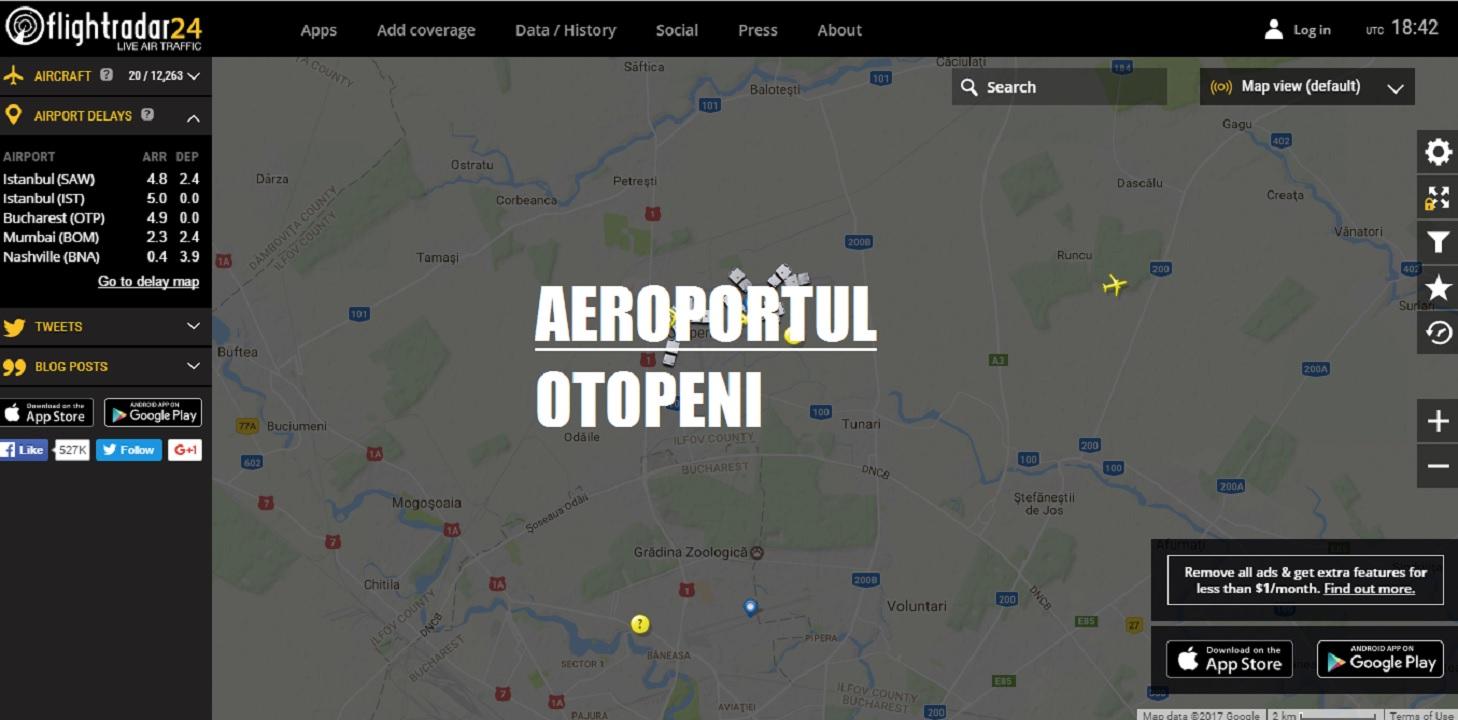 Aeroportul Otopeni - Zoburi anulate în urma deciziei de suspendare a zborurilor Boeing 737 MAX