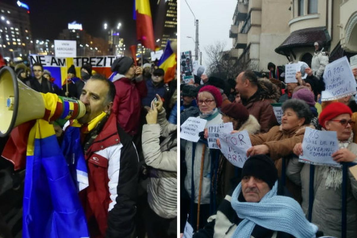 Proteste 10 februarie - Noi manifestații au loc vineri, în Piața Victoriei, la Palatul Cotroceni și în mai multe orașe din țară.
