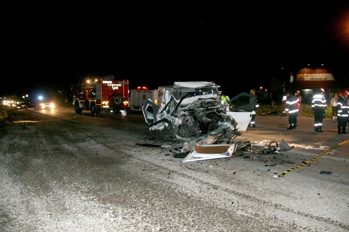 Accident în Pantelimon, județul Ilfov, pe 6 februarie. O femeie a murit, iar doi copii au fost răniți și duși de urgență la spital.