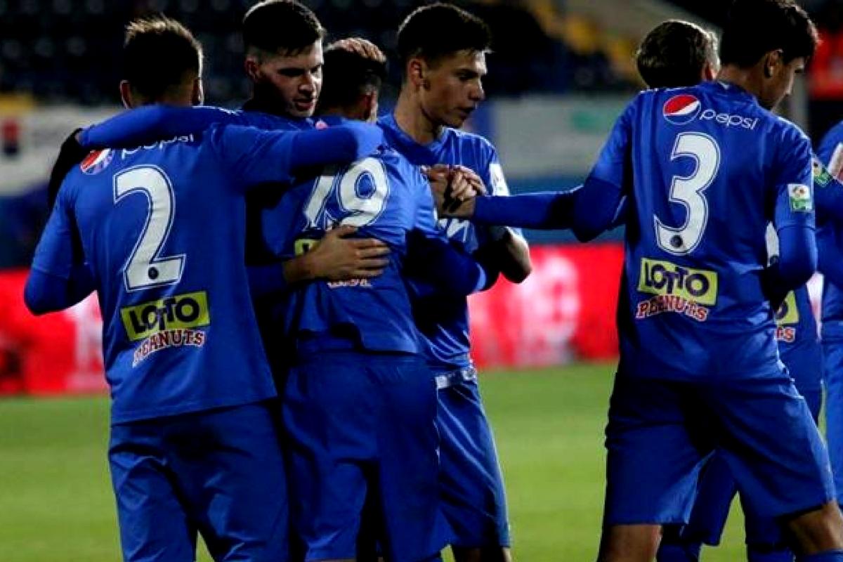 Clasamentul Ligii 1, după 23 de etape disputate. Viitorul este pe primul loc, urmată de Steaua, la șase puncte distanță de echipa lui Hagi.