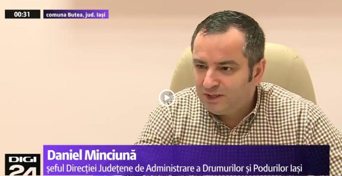Daniel Minciună, consilier județean PNL Iași, a murit la vârsta de 42 de ani. El și-a pierdut cunoștința pe Aeroportul din Iași.