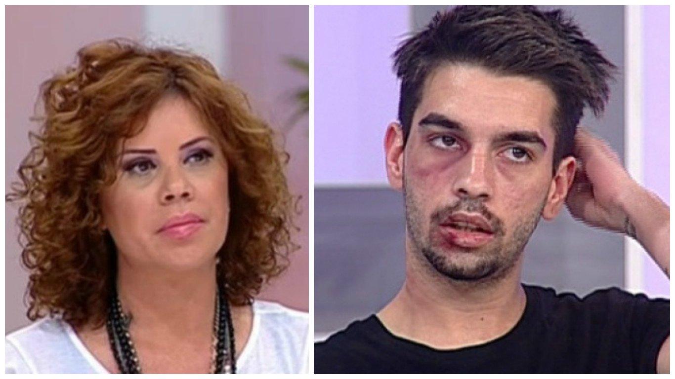 David Pușcaș, fiul Luminiței Anghel, a ajuns la spital. Tânărul a fost la un pas de leșin, după ce nu a mâncat nimic timp de trei zile.